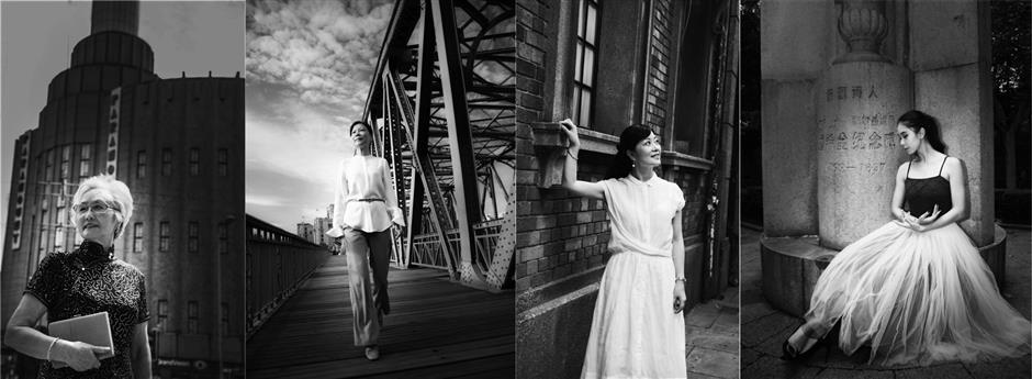 Black and white delight in 'Shanghai Women'