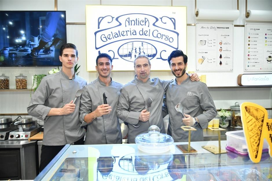 Antica Gelateriadel Corso brings frozen charm