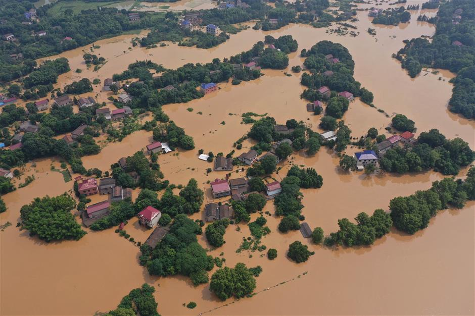 Floods affect 19.91m people in China