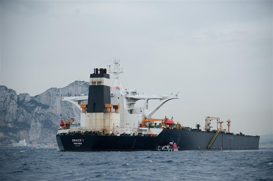 All crew members of Iranian tanker bailed without charge: Gibraltar police