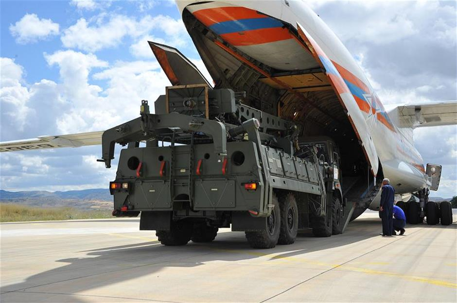 Turkey takes delivery of Russian S-400 systems defying US