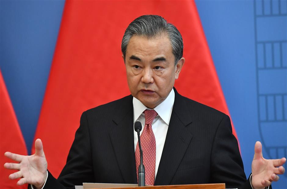 Chinese FM urges US not to 'play with fire' on Taiwan-related issues