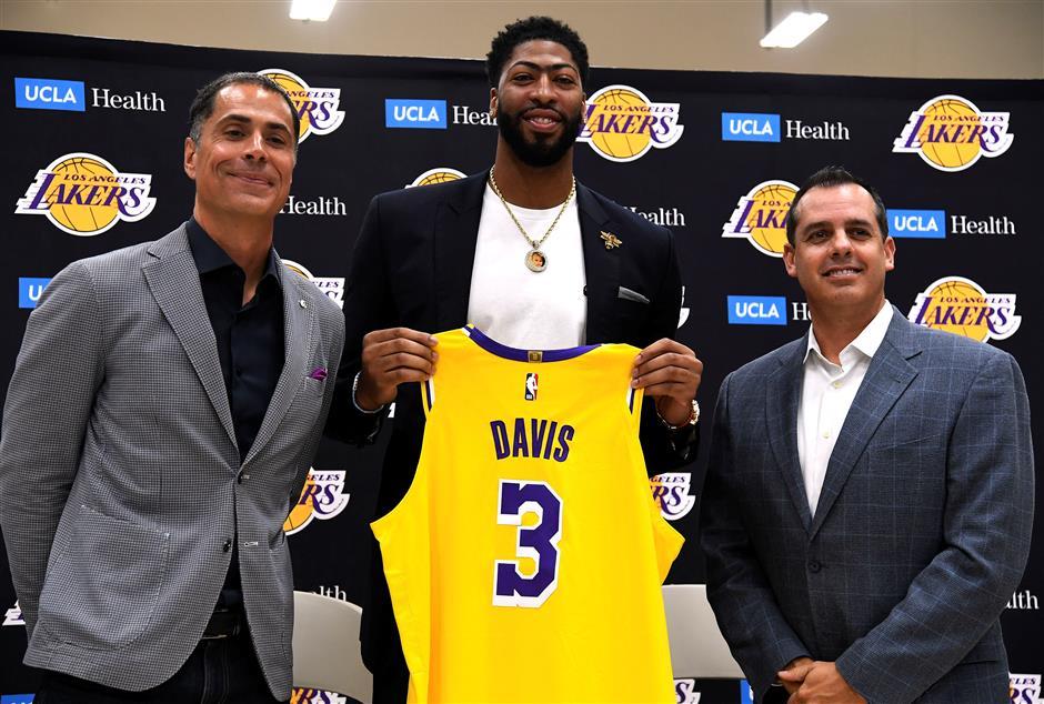 Davis confident Lakers will hit ground running
