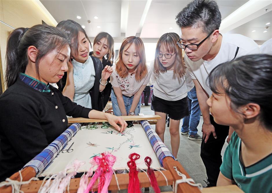 University to teach embroidery skills