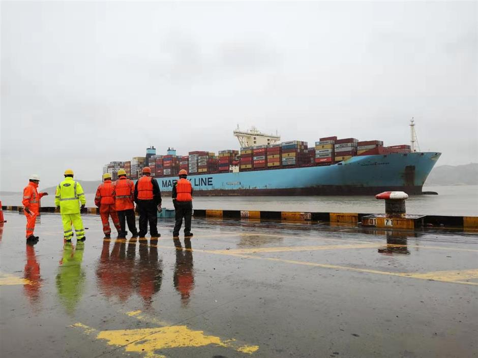 Wrong port for stowaways