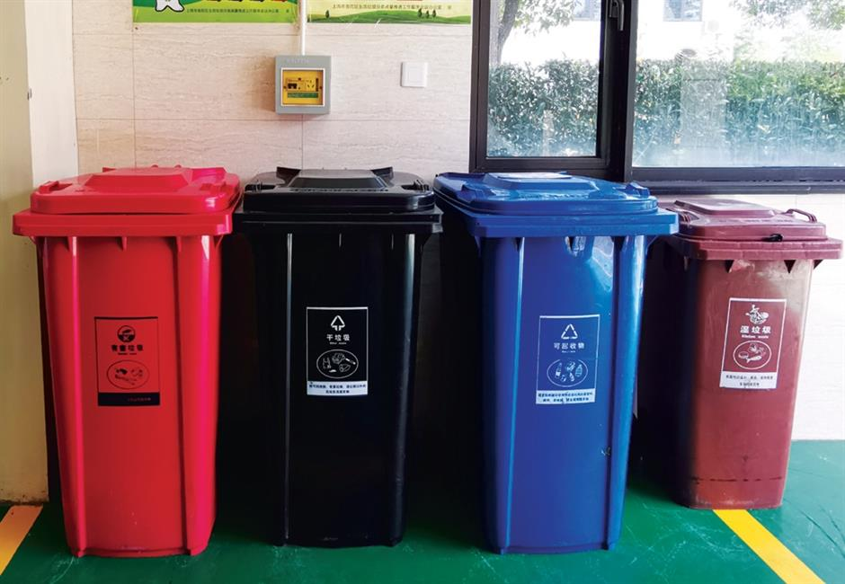 Putuo leading city's fight of garbage sorting