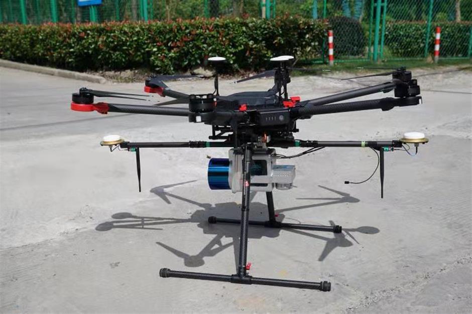 Grid drones keep power flowing