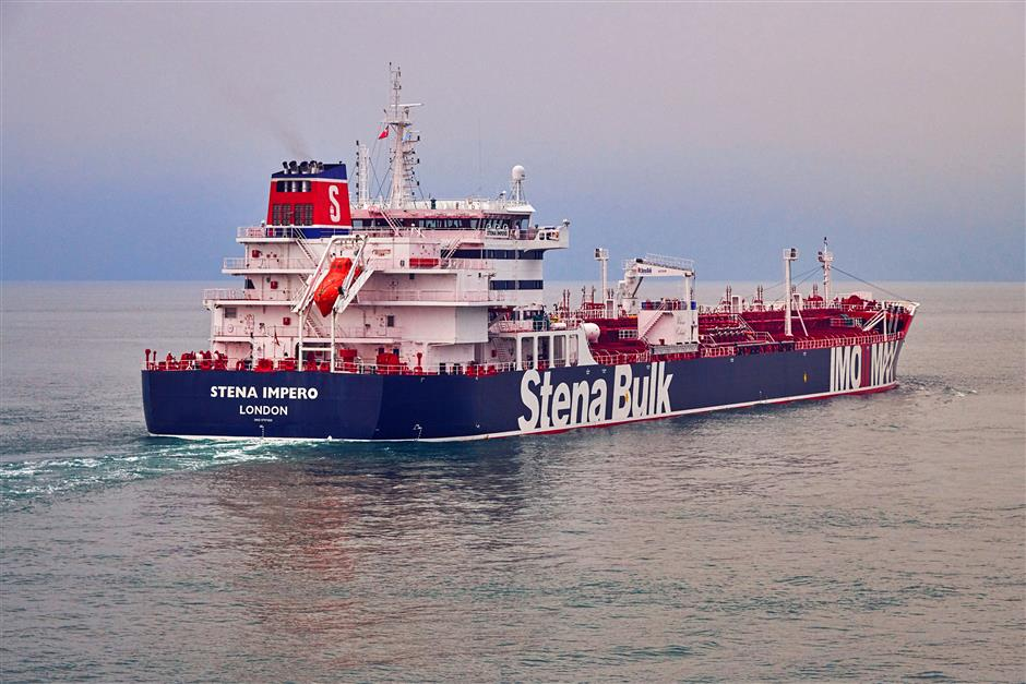 Video Shows Iran Seizing British Oil Tanker in Fars News Tweet