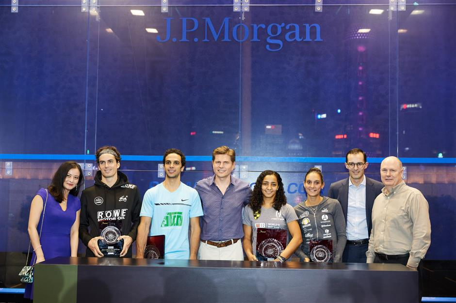 World No.1s to star at J.P. Morgan China Squash Open