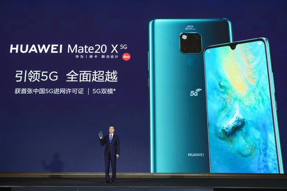 Huaweilaunches first 5G smartphone in China