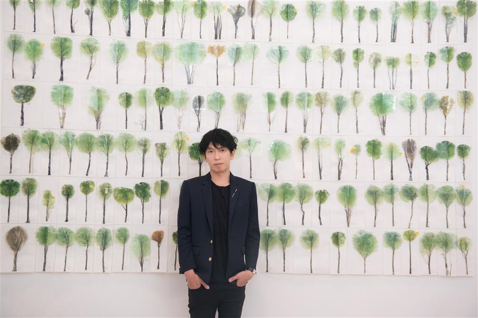 Solo exhibition explores free architecture
