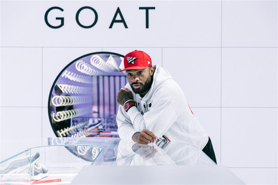 Sneaker show: GOAT comes to China