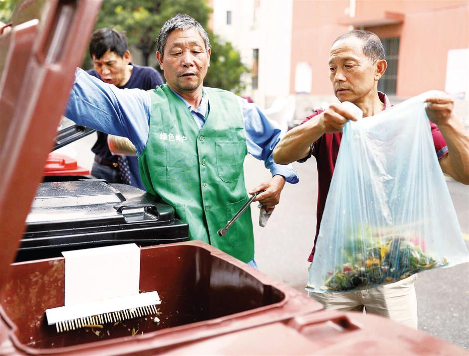 District's tireless volunteers charged with sorting out waste from the trash