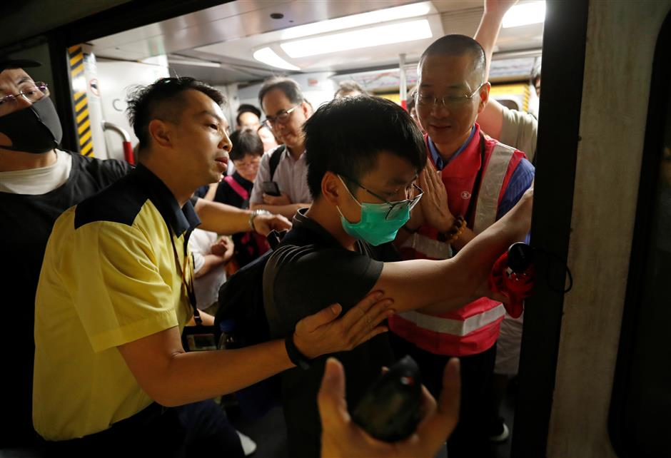 Lam says HK on verge of dangerous situation, appeals against violence