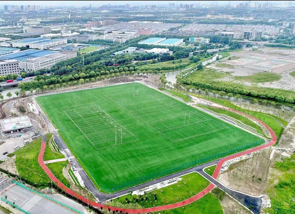 Kick-off soon at biggest sports park