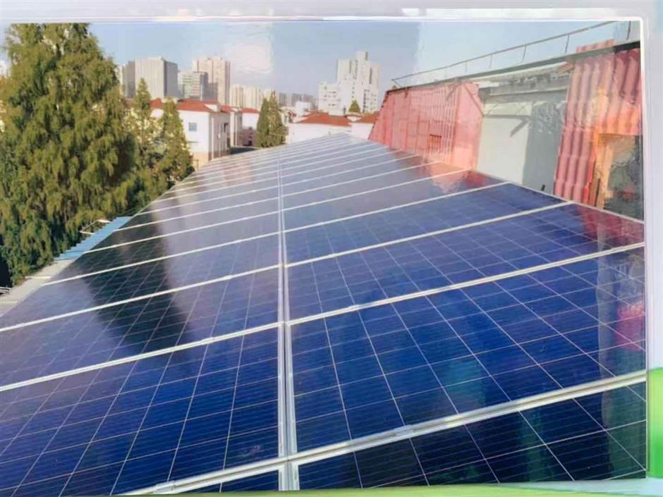 Solar power lifts former model workers