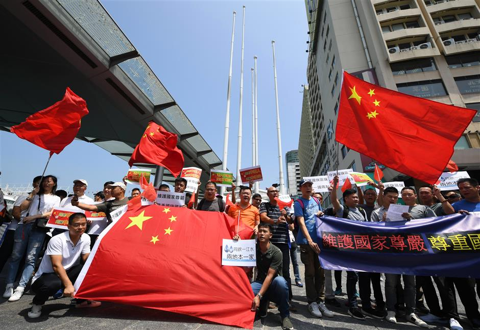 China refutes US frequent intervening in Hong Kong affairs