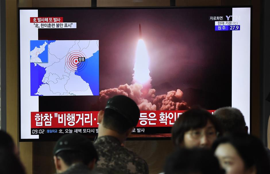 DPRK fires 2 unidentified projectiles: Yonhap