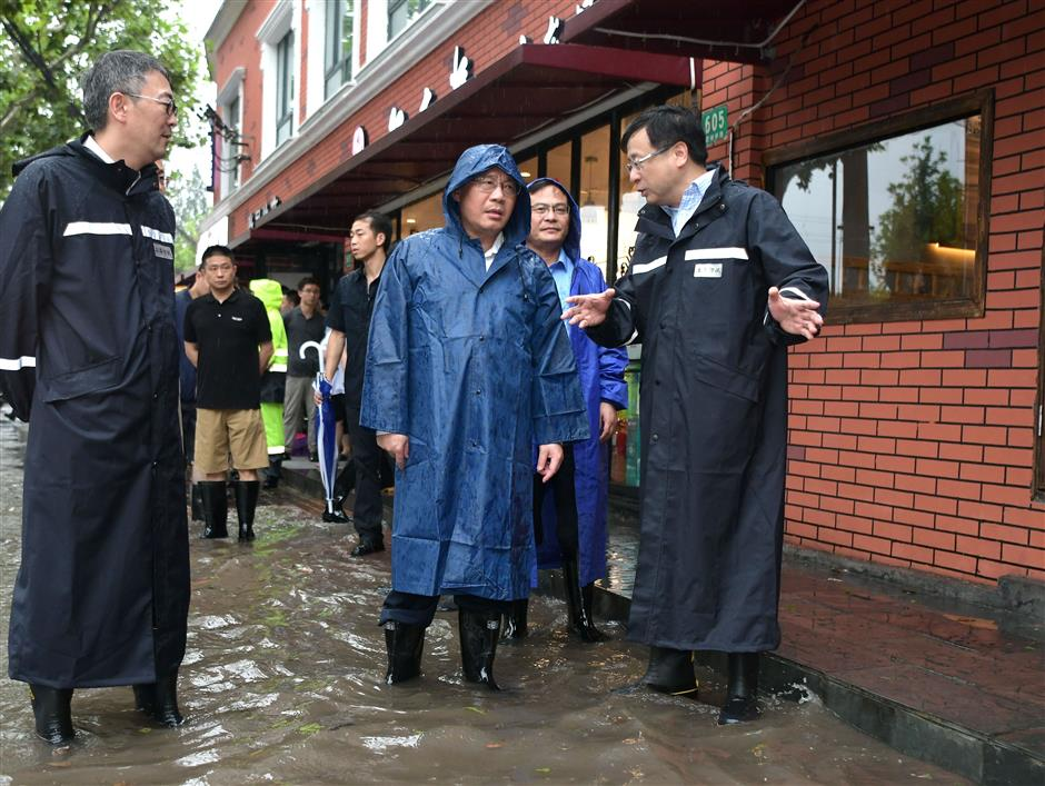 City working to clear floodwaters