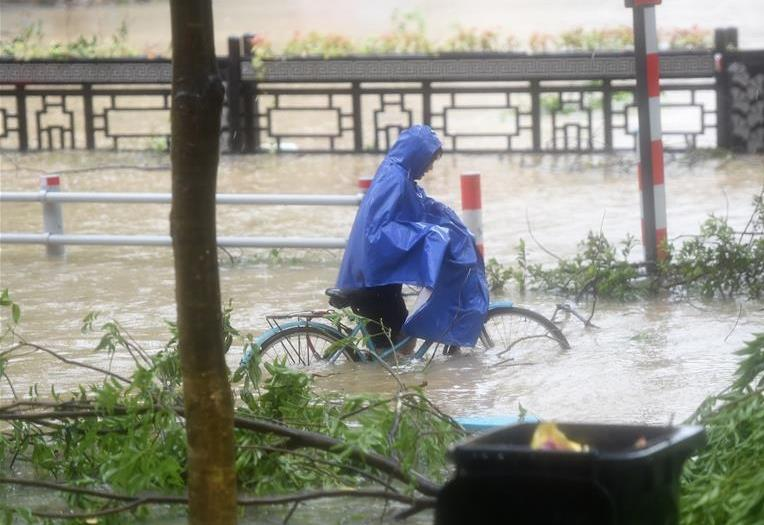 China issues orange alert as Typhoon Lekima lands