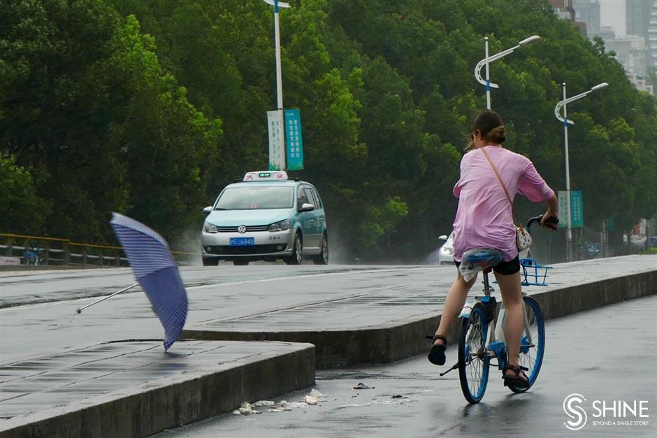 Typhoon Lekima whips up a storm