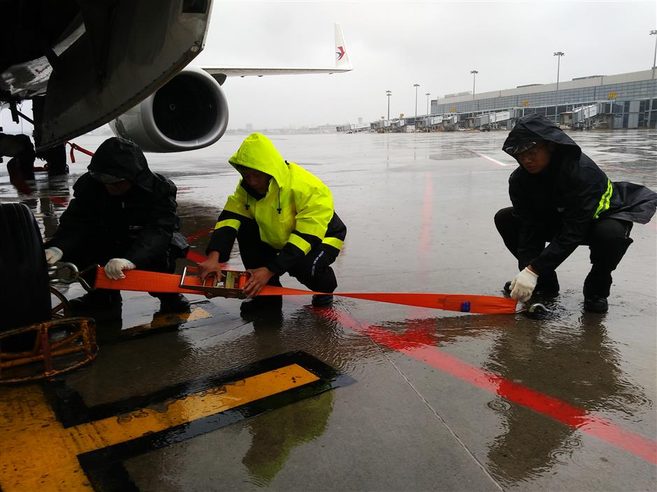 City airports begin returning to normal operations in wake of typhoon