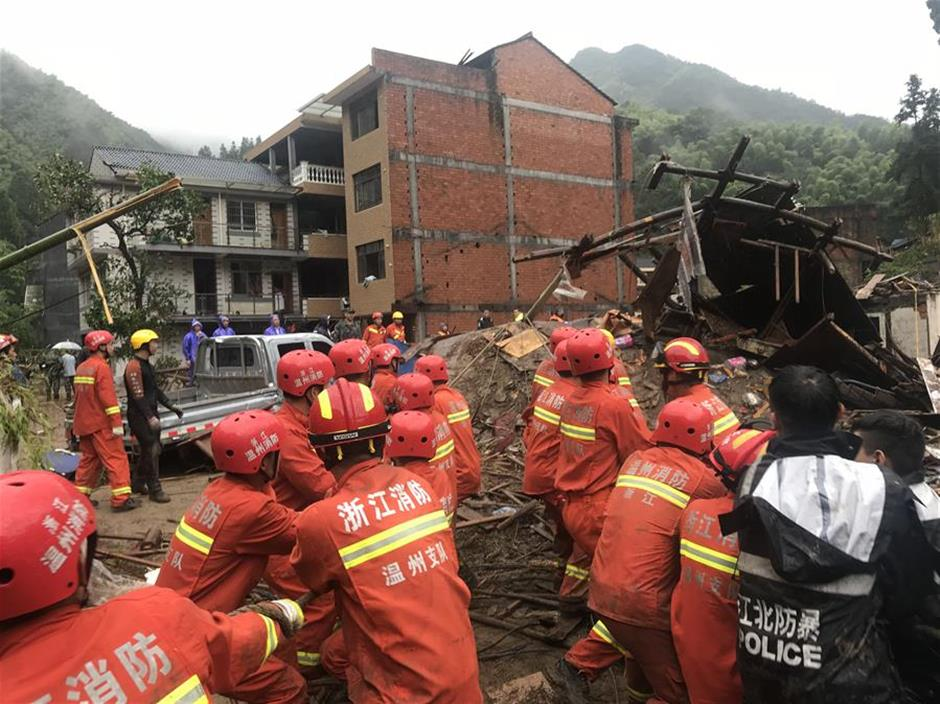 Death toll rises to 22 as Typhoon Lekima sweeps through east China
