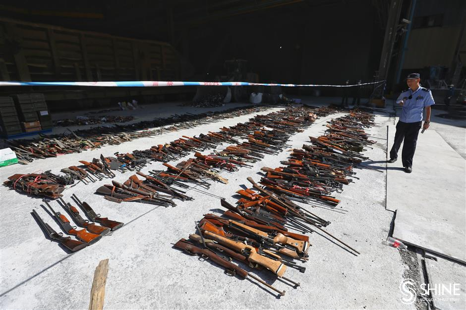 Guns and daggers at meltdown