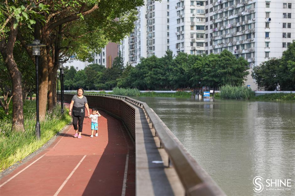 Suzhou Creek stroll now a walk in the park