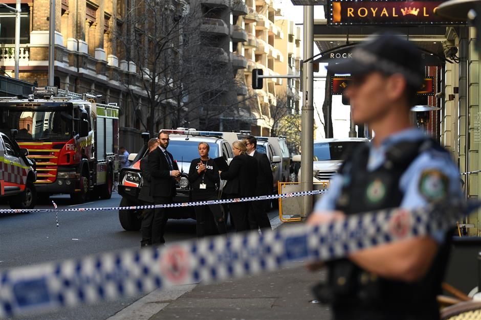 Chinese woman injured in Sydney knife rampage