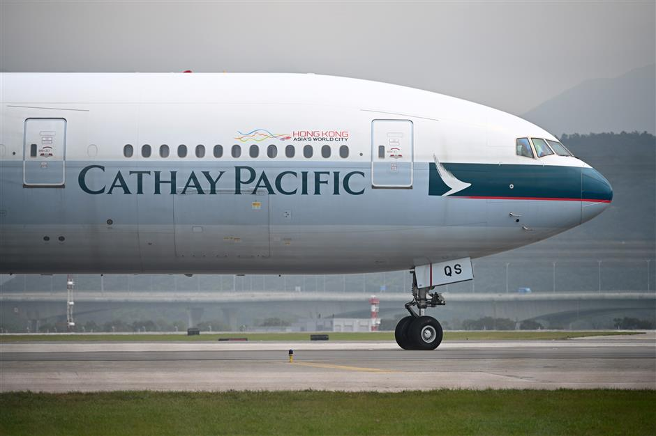 Cathay Pacific, Swire Pacific condemn all violent acts, strongly support HKSAR gov't