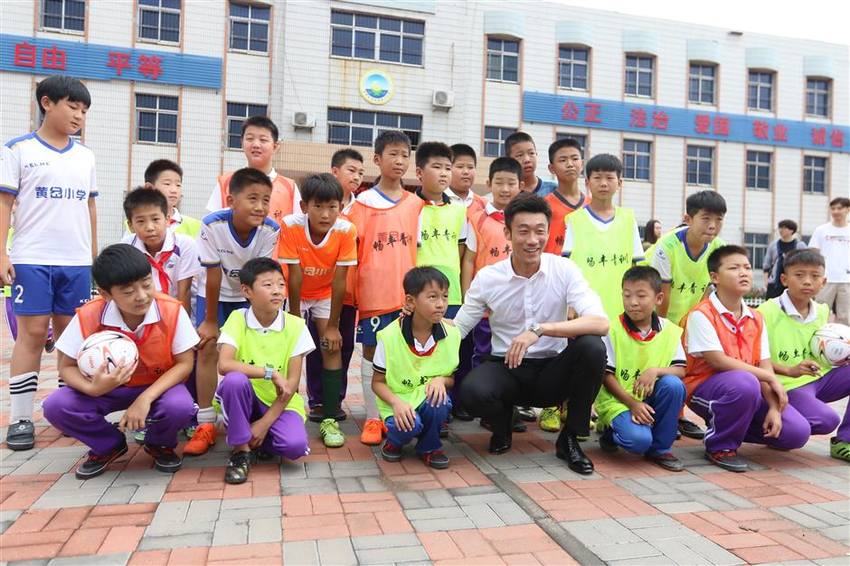 China sees more athletes engage in sports charity work