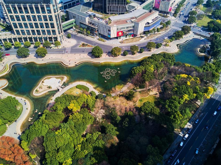 Nightlife plan for Xintiandi street
