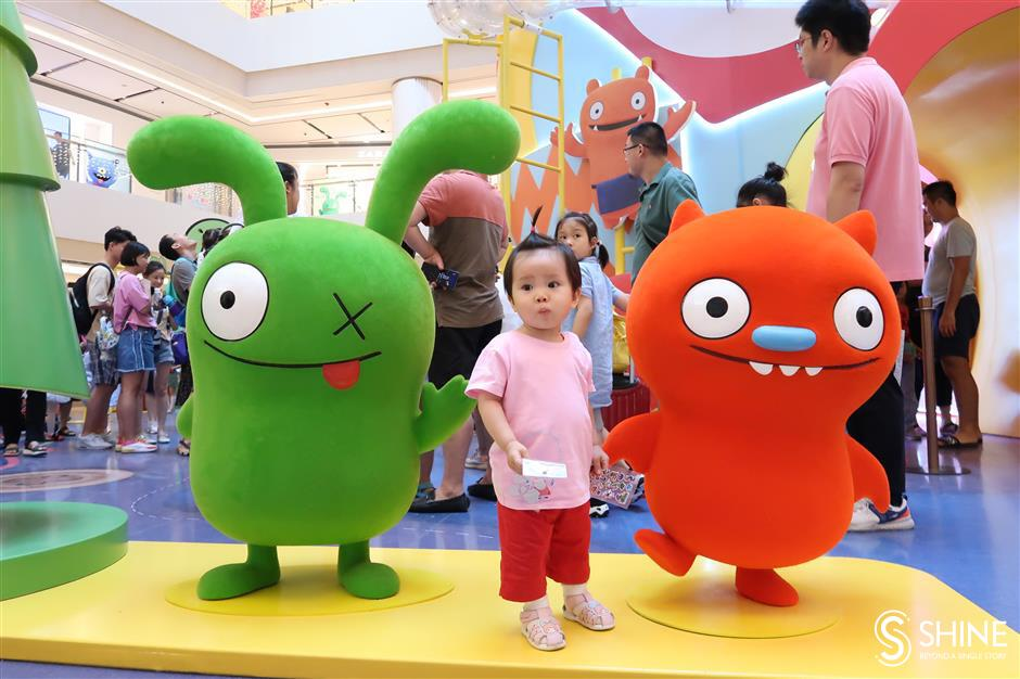 Meet the UglyDolls at mall exhibition