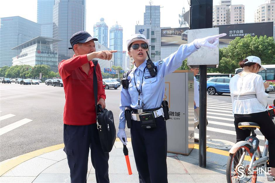 Traffic policewomen break the gender rule
