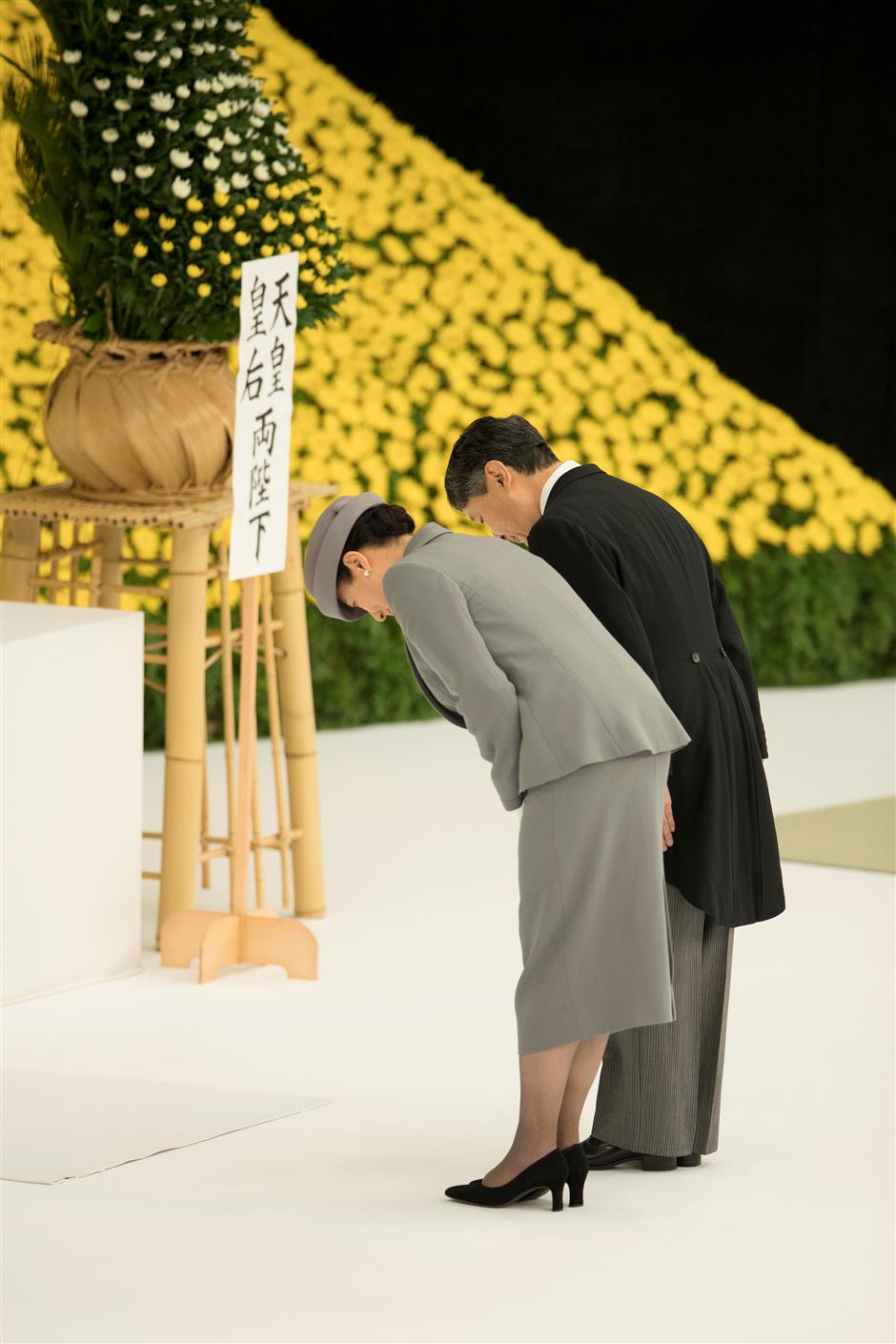 Japan's new Emperor expresses 'deep remorse' over Japan's wartime acts on anniversary of WWII surrender