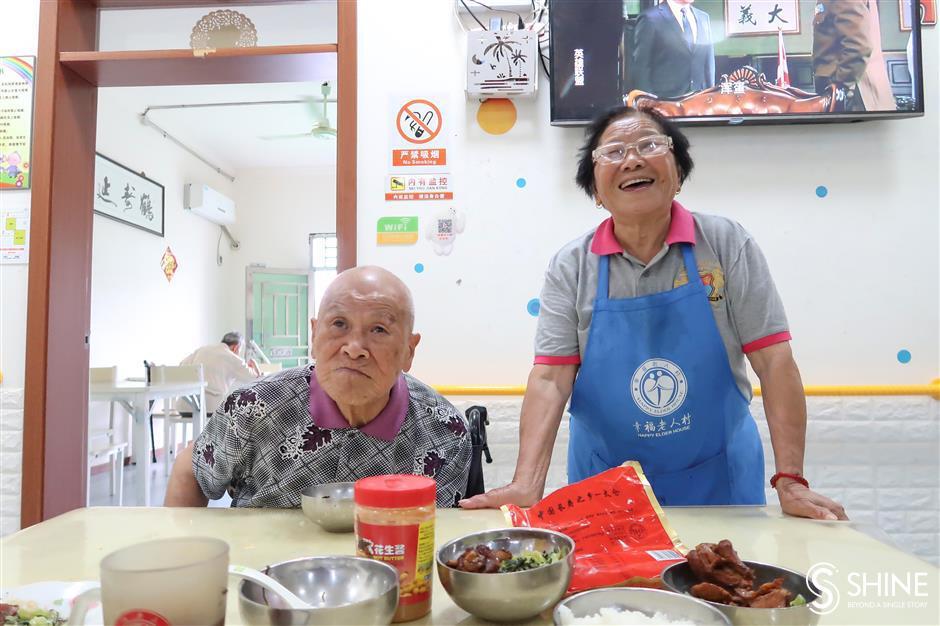 Elderly-care home keeps residents in familiar surroundings