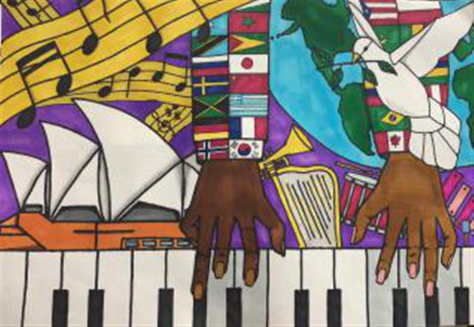 Art beyond race, language and culture