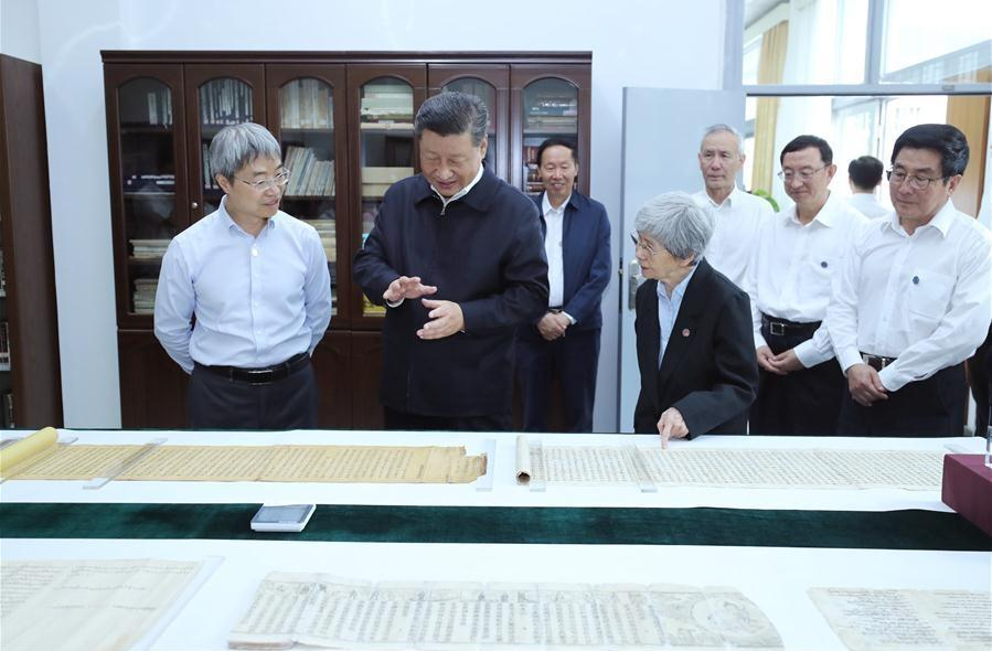 Xi calls for preserving quintessence of Chinese culture