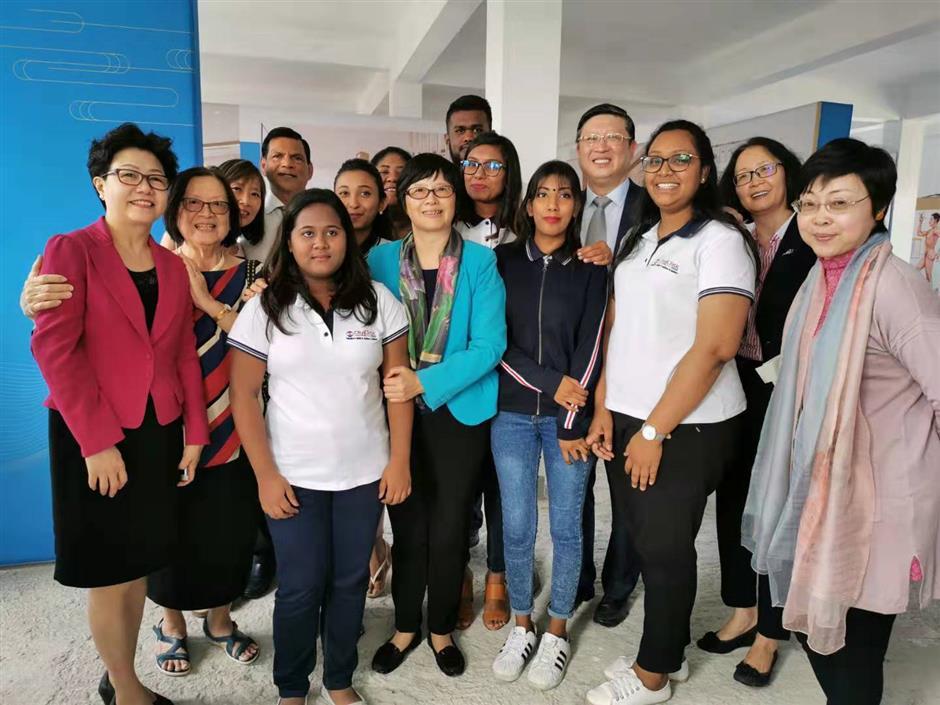 TCM center opens in Mauritius