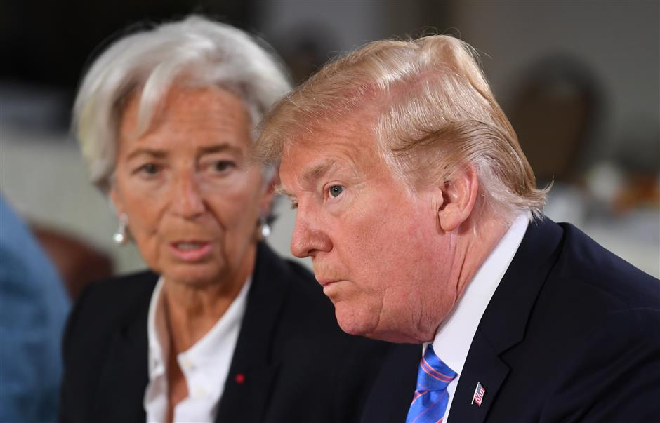 IMF to Trump: It's not working