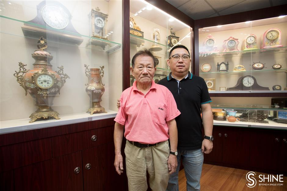 Time on their hands: Two collectors pursue love of vintage clock