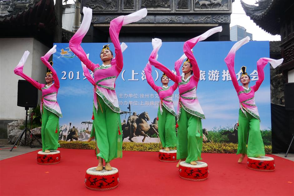 Xuzhou shows off to attract Shanghai tourists