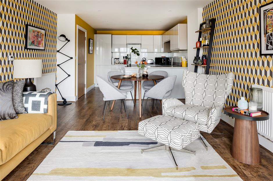 From a white box to wow thanks to lived-in project