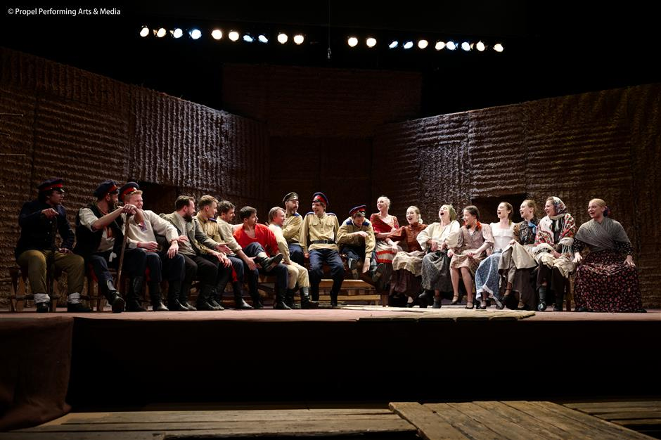 Cossack epic a tour de force of stagecraft