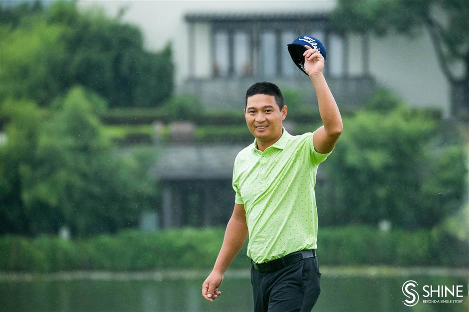 Zhang Makes History with Hangzhou Win