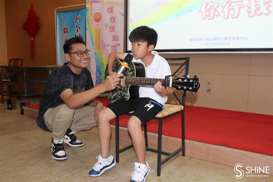 Art festival showcases talents of special-needs children