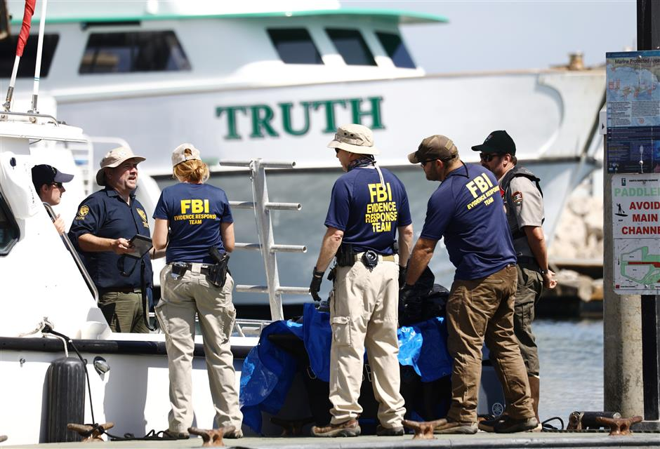 20 bodies recovered after California dive boat disaster
