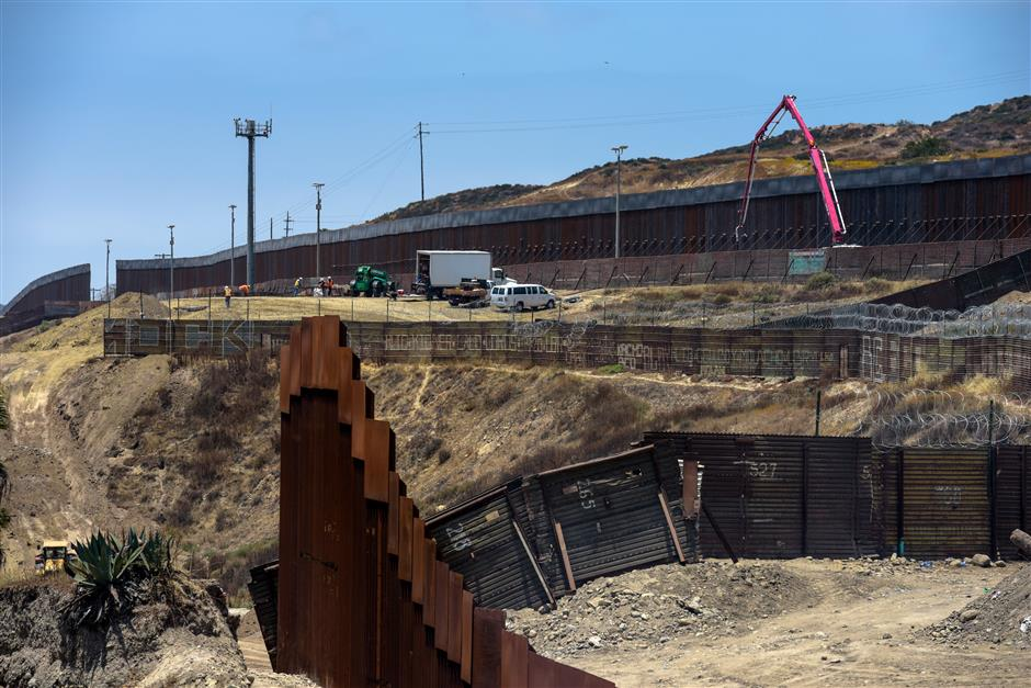 Pentagon Allocates $3.6B in Military Funding to Border Wall Construction