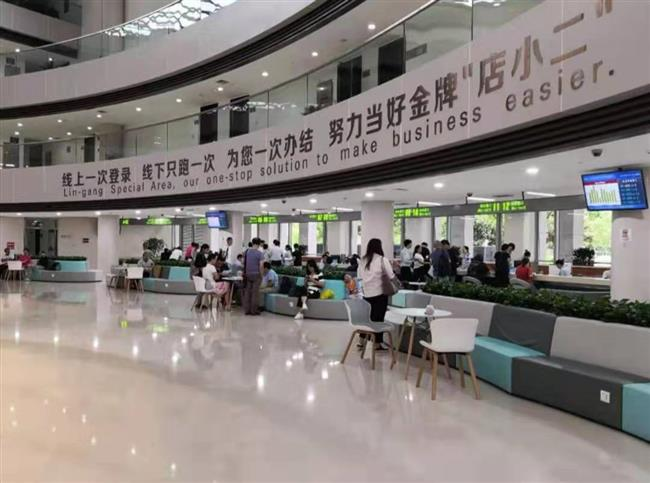 Lingang is all about institutional  innovation at a much higher level
